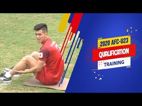 Tiến Linh vẫn chưa thể tập cùng các đồng đội ở tuyển U23 Việt Nam | VFF Channel - Thời lượng: 2 phút, 47 giây.
