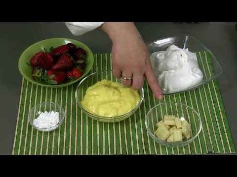 pavlova con fragole - ricetta