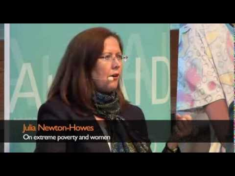 Julia Newton-Howes on extreme poverty and women