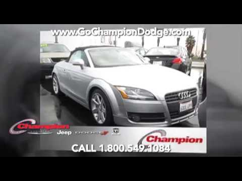 USED 2008 AUDI TT 2.0T for Sale - Los Angeles, Cerritos, Downey CA - PREOWNED SELECT DEAL