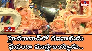 Different Types of Ganesh Idols Making at Dhoolpet | HMTV Special Report