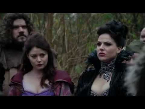 Regina Learns About The Wicked Witch & Oz 3x13 Once Upon A Time