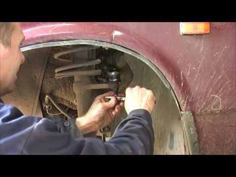 Как поменять рулевой наконечник на ваз 2109 фото