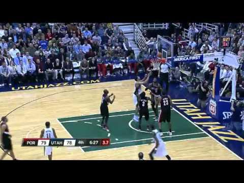 Portland Trail Blazers 89 – Utah Jazz 93