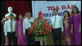 Đồng chí Nguyễn Anh Tú, Chủ tịch UBND thành phố chúc mừng Ngày Nhà giáo Việt nam 20-11
