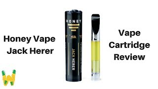 Honey Vape Jack Herer Cartridge Review by  Weeats Reviews