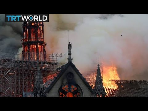 Breaking News: Large Fire At Notre-Dame Cathedral In Paris