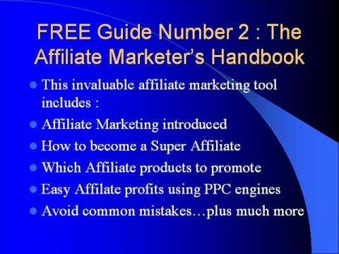Free Affiliate Internet Marketing eBooks  Make Money Online