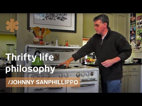 small home - Johnny Sanphillippo has never made more than $20000 per year (he works as a housekeeper, as well as, a gardener and house painter), but he knew like