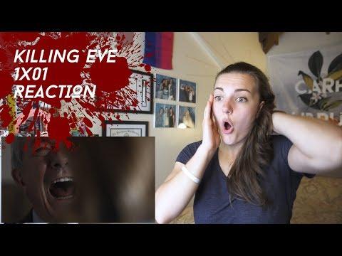"Killing Eve Season 1 Episode 1 ""Nice Face"" REACTION"