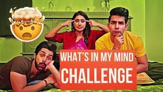 What's in my Mind Challenge | Rimorav Vlogs