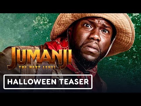 "Jumanji: The Next Level - Dwayne Johnson and Kevin Hart ""Trick or Treat"" Video"