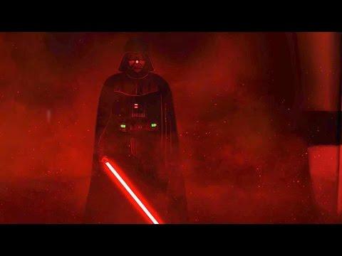 Darth Vader's rage   Star Wars: Rogue One [Ending scene]