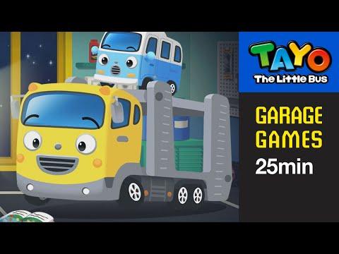 (EN) [Tayo Garage Games] Garage Game 25 minutes Compilation