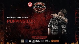Popping Lok – 2019 KOD-QT Popping JUDGE SOLO