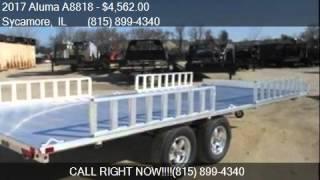 9. 2017 Aluma A8818  for sale in Sycamore, IL 60178 at Rondo Tr