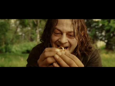 Gollum - Smeagol and Deagol fight scene from lotr rotk.