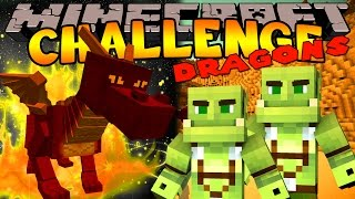 Minecraft Challenge - FIRE DRAGON TRAINER [6]