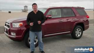 2012 Toyota 4Runner Test Drive&SUV Video Review