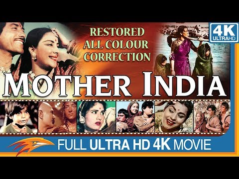 Mother India Old Full Movie    Nargis, Sunil Dutt, Rajendra Kumar    Bollywood Old Full Movies