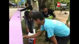 SSI – Free Style Classic Bike Bangsaphan Join Hands in Banchasmoung School's Beautifying