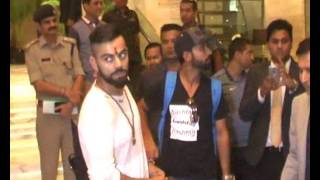 Kanpur India  City pictures : Virat Kohli cuts cake specially customised for India's '500th Test' in Kanpur