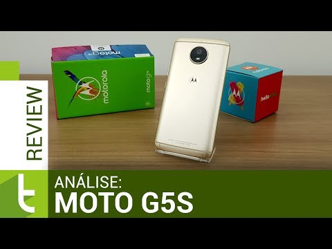 Análise do Motorola Moto G5S  Review do TudoCelular