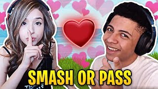 Pokimane Answers Myth Smash or Pass! | Fortnite Best Moments #24