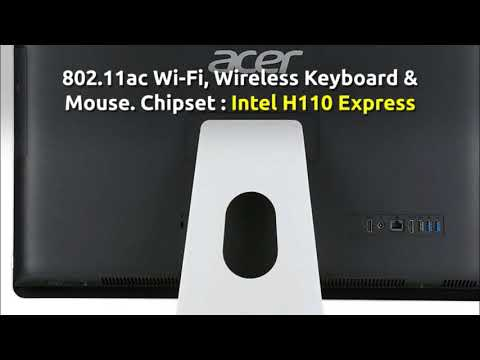 Acer Aspire AIO Touch Desktop, 23.8