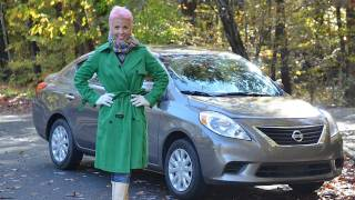 Nissan Versa 2012 Test Drive&Car Review By RoadflyTV With Emme Hall
