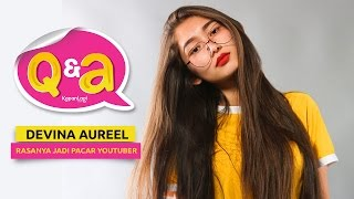 Video Q&A Devina Aureel - Antara Malang, YouTube & Chandra Liow MP3, 3GP, MP4, WEBM, AVI, FLV Januari 2019