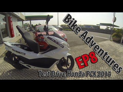 Teste Drive Honda PCX - 2014 - GoPro Hero3 Black Edition