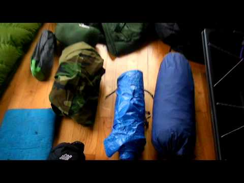 Winter Backpacking/Mountaineering Gear, 3 Days