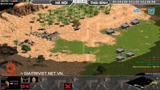 Hà Nội + Xi Măng vs Thái Bình  C3T4, Ngày 31/07/2015, game đế chế, clip aoe, chim sẻ đi nắng, aoe 2015
