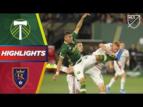 Video: Portland Timbers vs. Real Salt Lake | HIGHLIGHTS - August 31, 2019