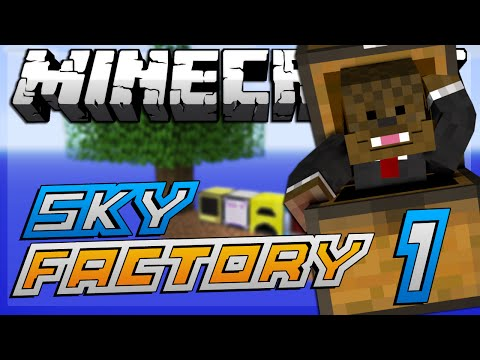 "Minecraft Modded Sky Factory ""TREE TWERKING"" Lets Play #1"