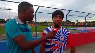 O lateral Vinicius Cabeludo marcou 3 gols contra a seleção de Milagres