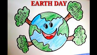Download How To Draw Save Earth Save Life L Happy Earth Day Drawing