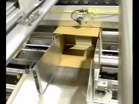CHL Progressive Upstacker Cereal Bars Side Load Case Packer