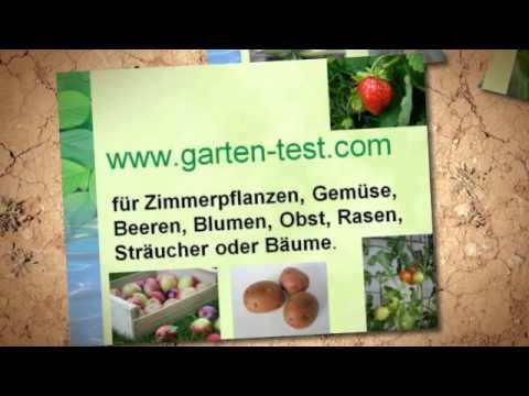 Bodentest selber machen - http://www.garten-test.com/