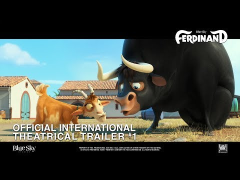 Ferdinand [Official International Theatrical Trailer #1 in HD (1080p)]