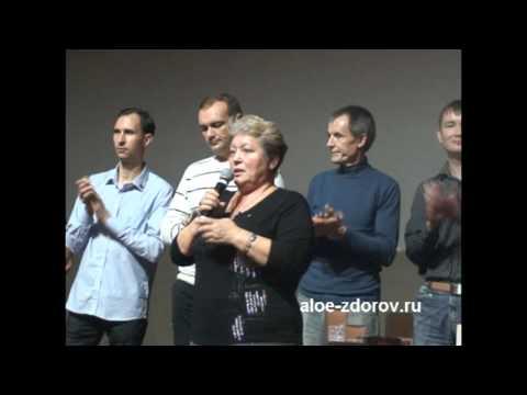 Отзыв Алоэ Вера - уменьшился сахар в крови и нормализовалось давление - DomaVideo.Ru