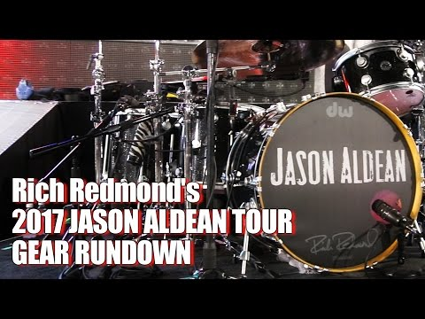 Rich Redmond's Gear Rundown for Jason Aldean's