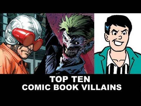comic - Top Ten Comic Book Villains! To celebrate the release of Supurbia #1, the ongoing from BOOM Studios, host Grace Randolph shares her list of the Top Ten Comic...
