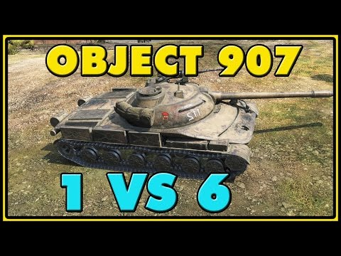 World of Tanks  Object 907 - 9 Kills - 8.8K Damage