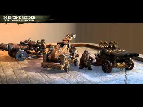 Total War: Warhammer — артиллерия дварфов