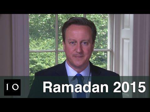 Prime Minister David David Cameron's Ramadan's greeting