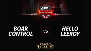 BoarControl vs HelloLeeroy, game 1