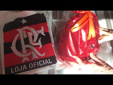 Pré-Jogo Flamengo x Coritiba - Ilha do Urubu - Saindo de casa e abrindo presentes de torcedores! - Thời lượng: 6:19.