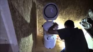 The DIY World - Part 3 - Tiny Home installation